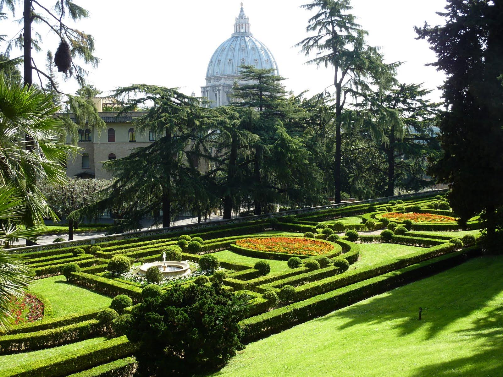 exclusive vatican gardens tour. Black Bedroom Furniture Sets. Home Design Ideas